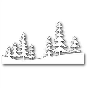 Memory Box  Die - Fresh Pine Landscape