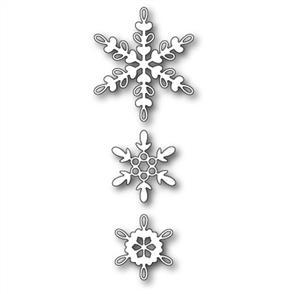 Memory Box  Die - Loop Snowflake Trio
