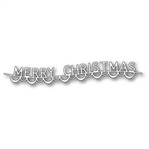 Memory Box  Die - Merry Christmas Garland