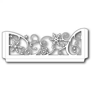 Memory Box  Die - Snowflake Scrollwork Sleeve