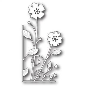 Memory Box  Die - Large Antilles Floral Left Corner