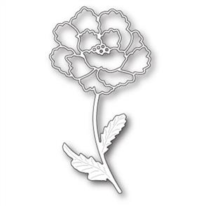 Memory Box  Die - Blooming Peony Stem
