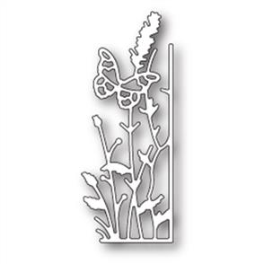 Memory Box  Die - Small Lavender Butterfly Right Corner