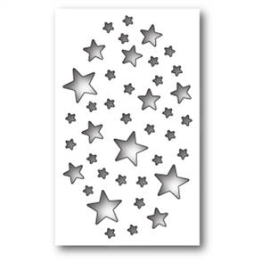 Memory Box  Die - Shimmer Star Collage