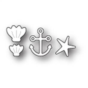 Memory Box  Die - Sea Bottom Treasures