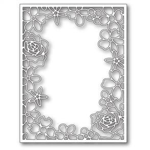 Memory Box  Die - Floral Fantasy Frame