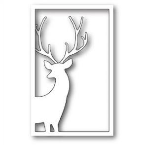 Memory Box  Die - Reindeer Window