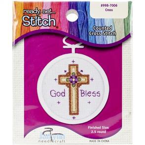 Janlynn  Beginners Cross Stitch Kit: Mini Cross