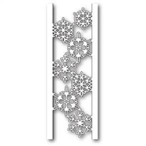 Memory Box  Die - Batavia Snowflake Channel