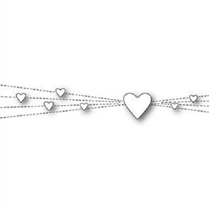 Memory Box  Dies - Heart Rays
