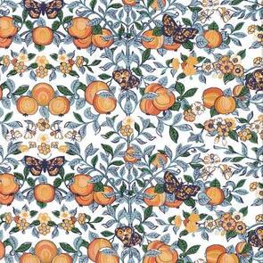 Liberty  - Orchard - Orange 5629Z