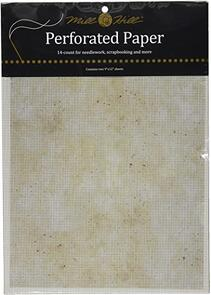 Mill Hill Perforated Paper, Natural Granite (14 count)