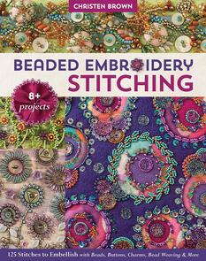 C&T Publishing Beaded Embroidery Stitching