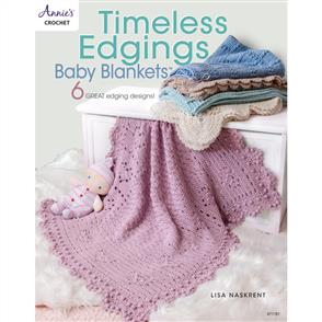 Annie's Books Timeless Edgings Baby Blankets