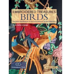 Search Press Embroidered Treasures - Birds