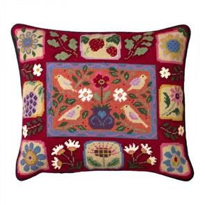 Jolly Red  Tapestry Kit - Arts & Crafts Tiles