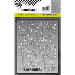 Carabelle  Studio Embossing Folder - Petites Roues