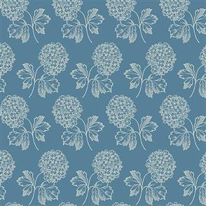 Andover Fabric  Cloud Nine - 8506 Blue
