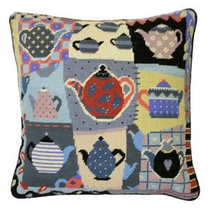 Jolly Red  Tapestry Kit - Afternoon Tea