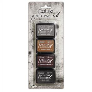 Ranger Ink Tim Holtz Distress Archival Mini Ink Kit - #3