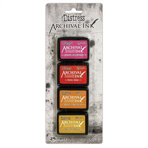 Ranger Ink Tim Holtz Distress Archival Mini Ink Kit - #1