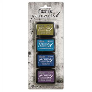 Ranger Ink Tim Holtz Distress Archival Mini Ink Kit - #2