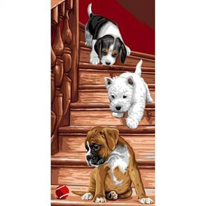 Anchor  Royal Paris Canvas: Tapestry Puppies