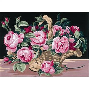 Anchor Royal Paris Canvas: Tapestry The Rose Basket