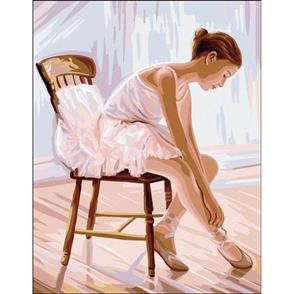 Anchor  Royal Paris Canvas: Tapestry Ballerina