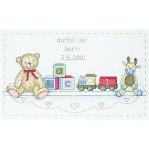 Anchor  Essential Kits: Cross Stitch Toy Shelf