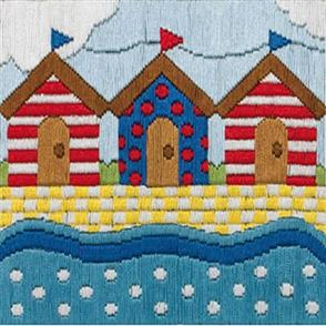 Anchor  Essential Kits: Cross Stitch  Beach Huts