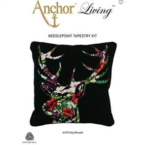Anchor Needlepoint Tapestry Kit - Stag Silhouette
