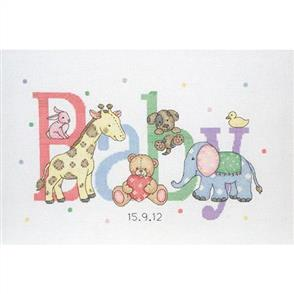 Anchor  Essential Kits: Cross Stitch Baby Animals