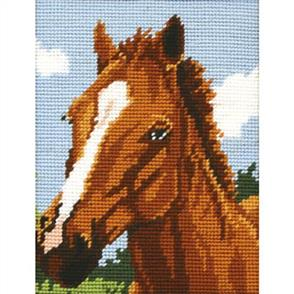 Anchor Needlepoint Tapestry KIT - Brown Horse