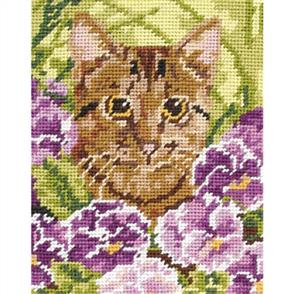 Anchor  Needlepoint Tapestry KIT - Cat