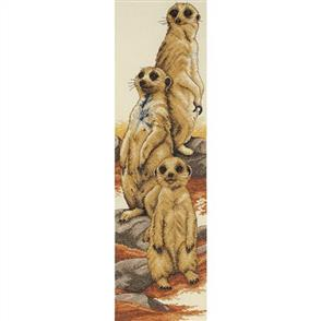 Anchor  Essential Kits: Cross Stitch Meerkats