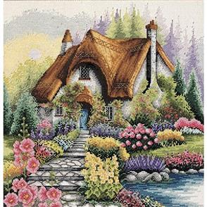 Anchor  Essential Kits: Cross Stitch  Lakeside Cottage