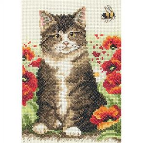 Anchor  Starter Kits: Cross Stitch Cat and Bee