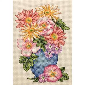 Anchor  Starter Kits: Cross Stitch Floral Spray
