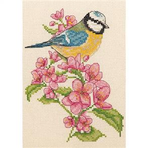 Anchor  Starter Kits: Cross Stitch Bluetit and Blossom
