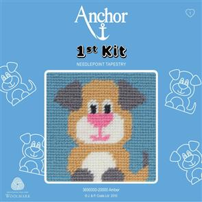 Anchor  1st Kit: Needle Point Tapestry - Amber