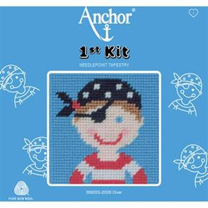 Anchor  1st Kit: Needle Point Tapestry - Oliver