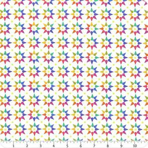 Andover Fabric Art Theory - Abacus Star - Day
