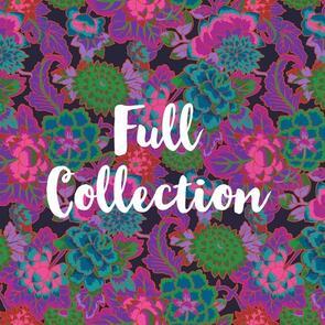 Free Spirit Kaffe Fassett August 2021 Collection - FULL COLLECTION (65 Fabrics)