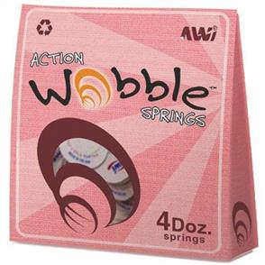 Action Wobble Wobble Springs - 48 Pack