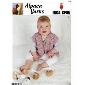 Alpaca Yarns  1220 Tweed Vest - Knitting Pattern