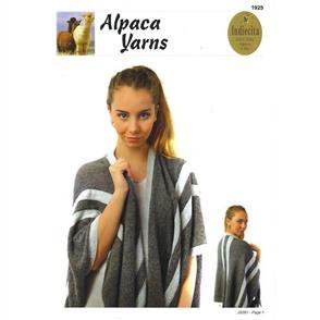 Alpaca Yarns 1925 Blanket Cape - Knitting Pattern