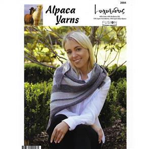 Alpaca Yarns  2004 Texture Wrap - Knitting Pattern