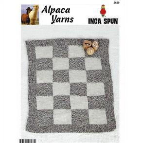 Alpaca Yarns 2629 Texture Baby Blanket - Knitting Pattern