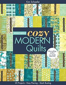 C&T Publishing  Bright & Bold Cozy Modern Quilts